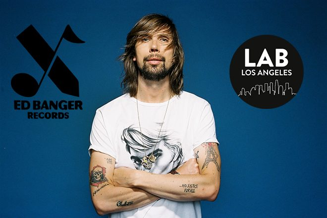 Ed Banger Records in The Lab LA with Busy P