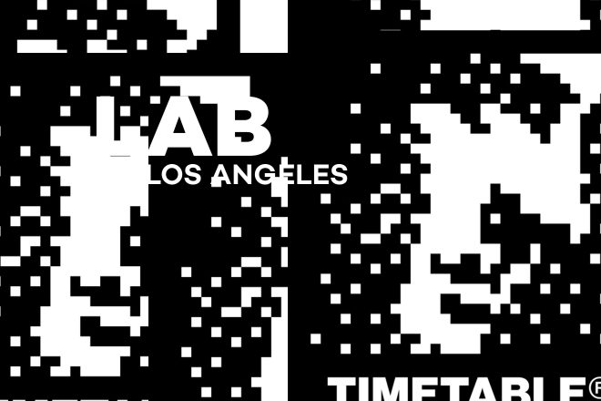 Timetable Records feat. Nosaj Thing and 4THSEX in The Lab LA