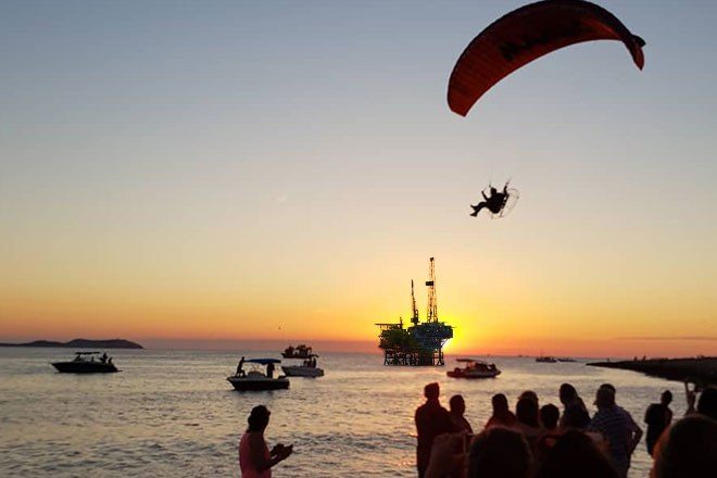 An oil rig is going to block Ibiza's iconic sunset