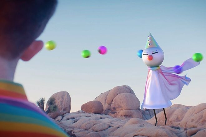 Watch Iglooghost's endearingly deranged music video 'Clear Tamei'