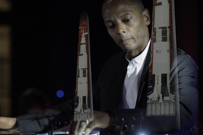 Watch Jeff Mills perform a rare live set in Washington DC