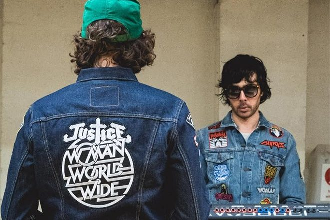 'Stop' and take a neon voyage with Justice's new music video