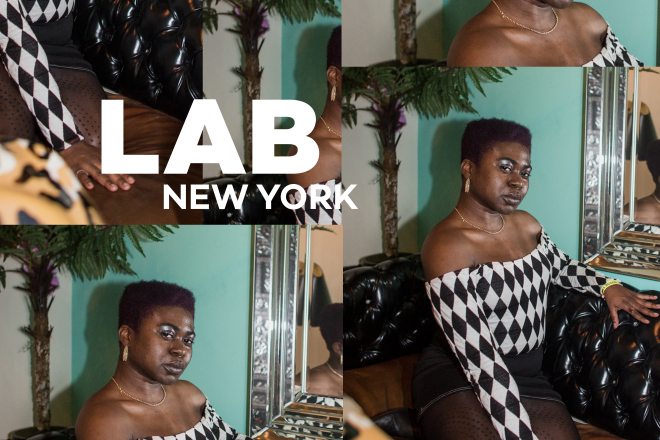 Dee Diggs in the Lab NYC