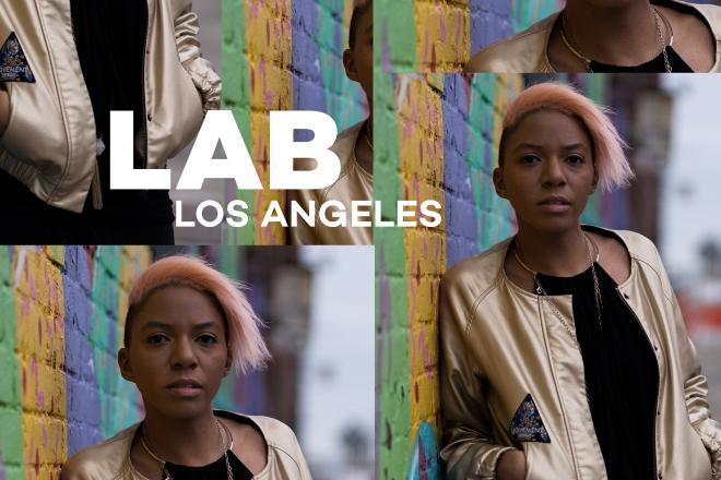 DJ Holographic in the Lab LA