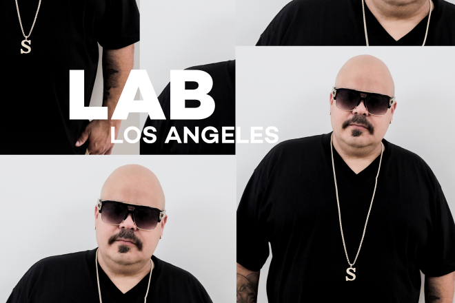 DJ Sneak in the Lab LA