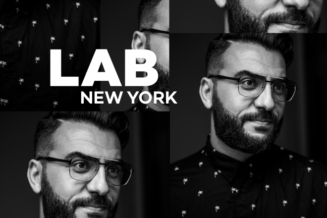 Maher Daniel in the Lab NYC