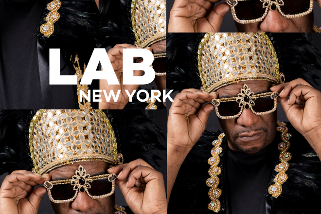 Marshall Jefferson in the Lab NYC