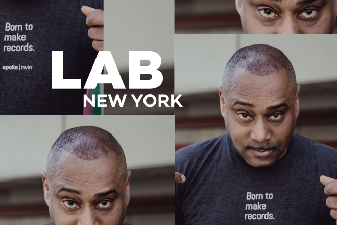 Mike Huckaby in the Lab NYC