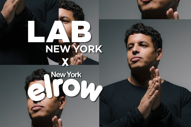 Richy Ahmed in the Lab NYC