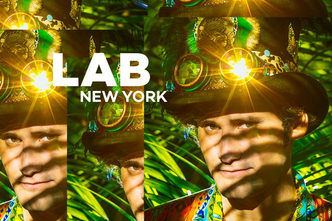 Mikey Lion in The Lab NYC