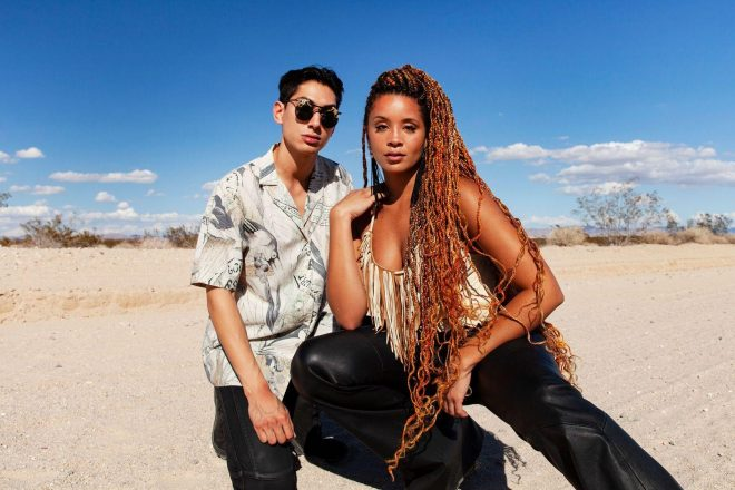 Lion Babe share how they learn from each other as singer and producer