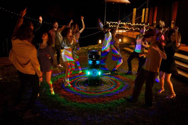 Sony unveils party-primed High-Power Audio systems
