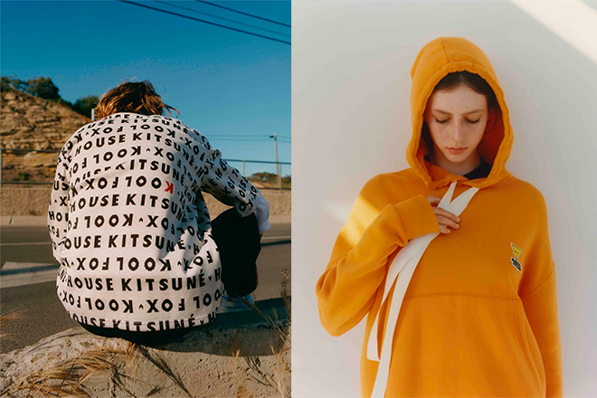 Maison Kitsuné taps into musical roots for AW19 collection