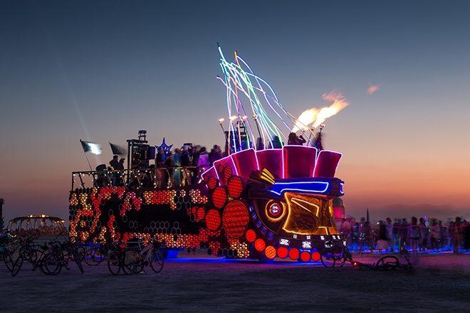 Burning Man's famed Mayan Warrior art car is bringing its next party to LA
