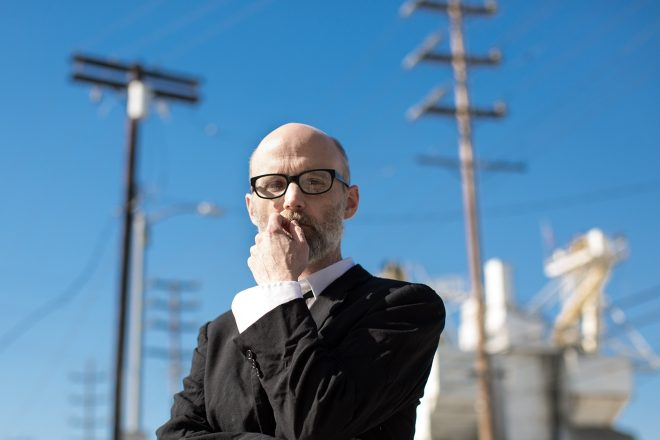 Moby reveals brushing his penis on Donald Trump