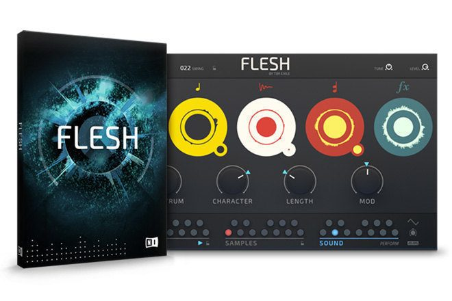 Native Instruments introduces Flesh performance synth