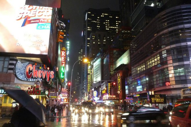 """24-hour """"party districts"""" proposed in New York City"""