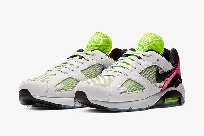 "​Nike drops a new line of ""techno-inspired"" Air Max 180"