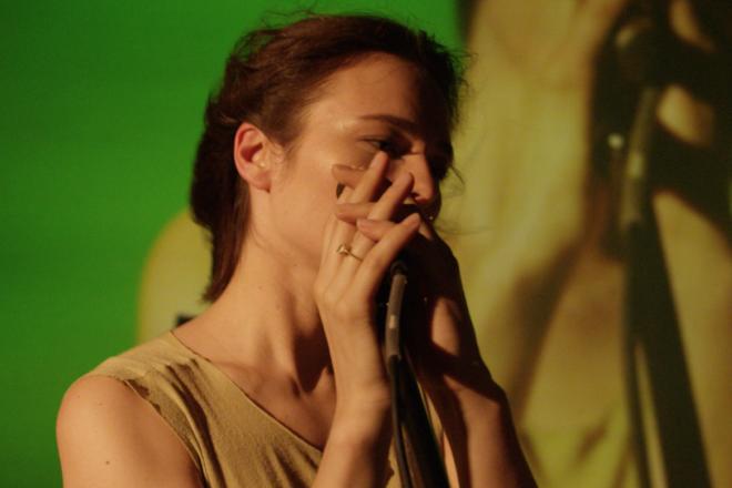 Watch Nina Kraviz's audiovisual set from Coachella