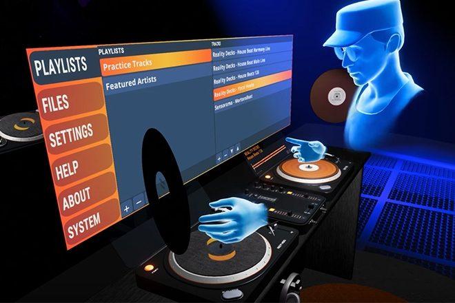 Oculus Rift reveals a new VR DJ app, Reality Decks