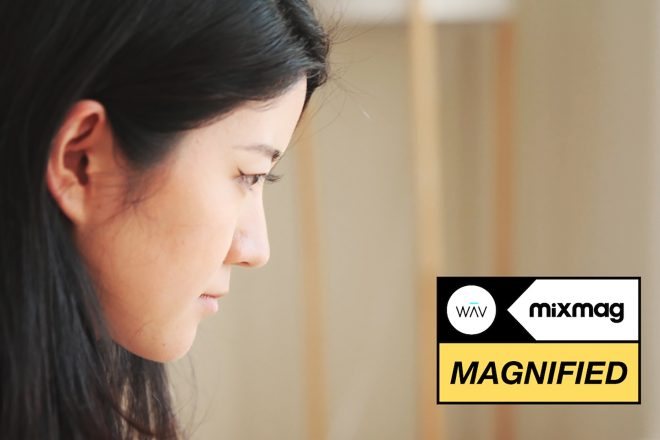 Qrion music has taken her a long way from Japan in Magnified's documentary series