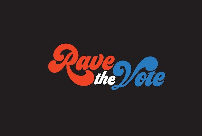 Rave The Vote is a new online streaming festival to encourage voter registration in the US