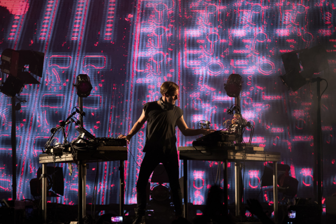 """Richie Hawtin on his live set: """"You have to see that human form moving and gyrating"""""""