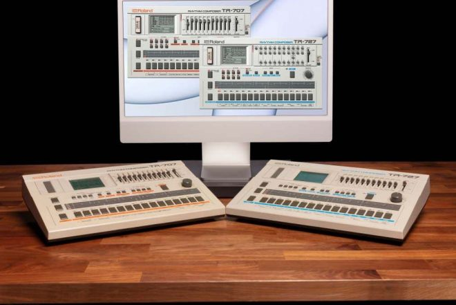 The Roland TR-727 and 707 have been added to Roland Cloud