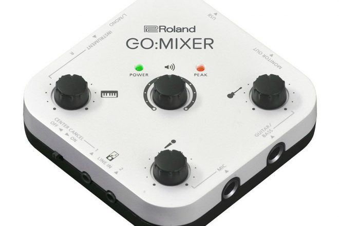 Record on-the-move with Roland's new mixer