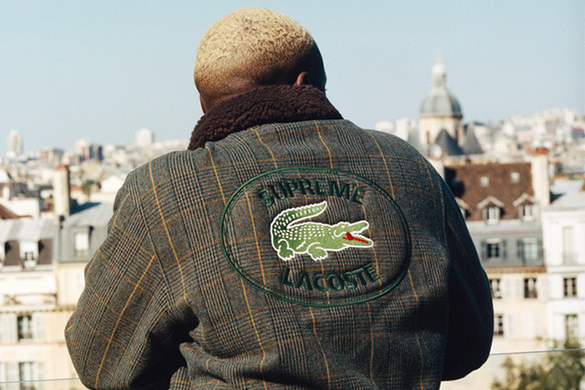 Supreme's latest collection with Lacoste drops globally today