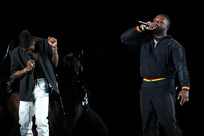 Headie One calls out UK government in Brit Awards performance