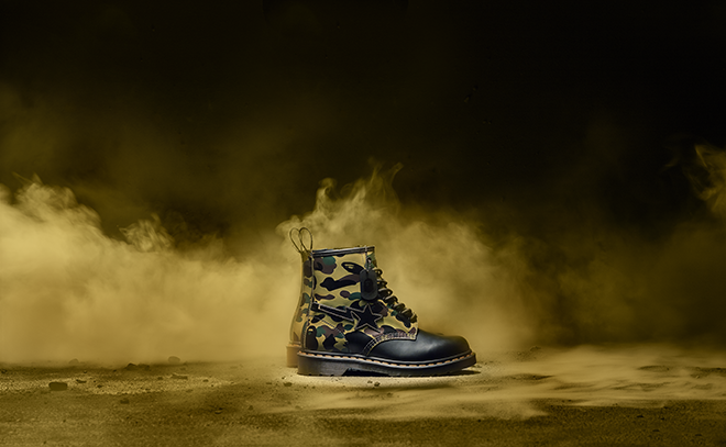 Dr. Martens links with A Bathing Ape to celebrate 60 years of the Original Boot
