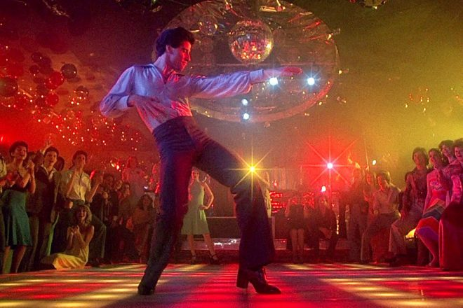 The iconic 'Saturday Night Fever' dancefloor is up for auction