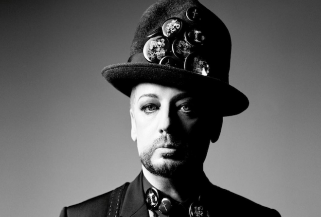 Boy George is the new surprise face of Dior Homme