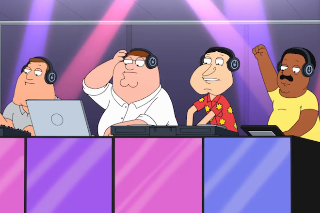 Peter Griffin becomes a DJ and takes molly in Family Guy's