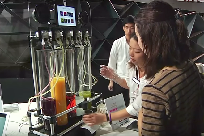 """Your Musical """"Taste"""" Can Now Become Literal with the Japanese Juicer"""