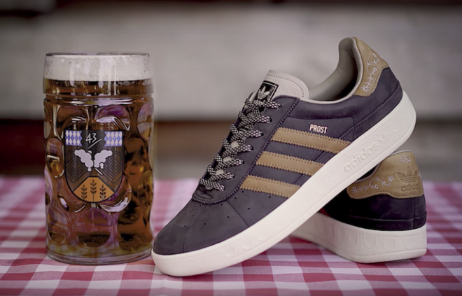 Adidas releases beer and vomit resistant sneakers for Oktoberfest