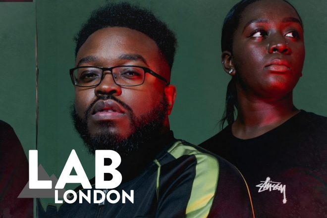 Sef Kombo & Kitty Amor in The Lab LDN