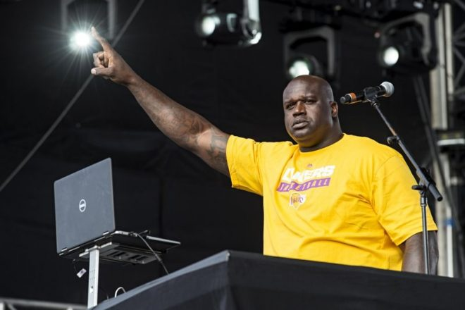 "Shaq: ""People think I'm a celebrity DJ, but I've been doing it since 1986"""
