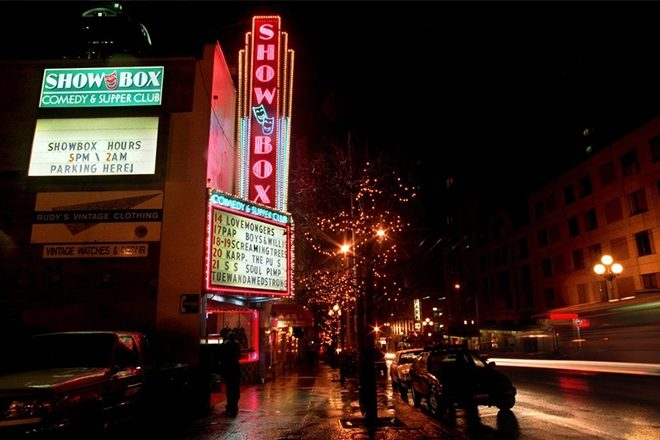 Seattle's historic music venue Showbox is at risk of being demolished