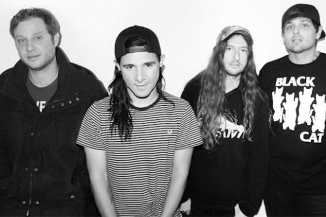 ​Skrillex reunites with his screamo band From First To Last