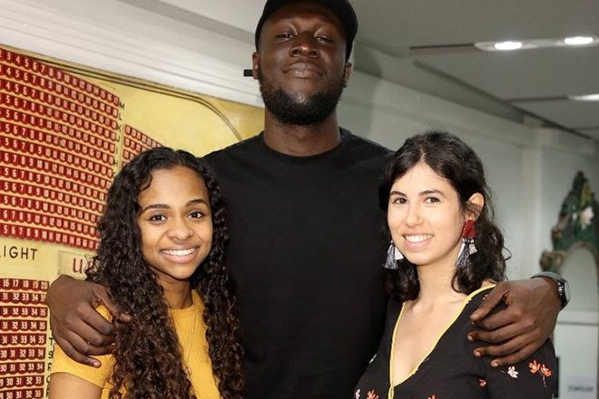 The co-winners of Stormzy's inaugural #Merky Books prize have been announced