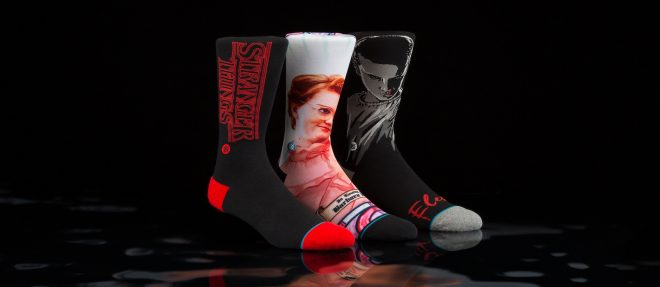 Stance pay homage to Stranger Things with an exclusive new capsule