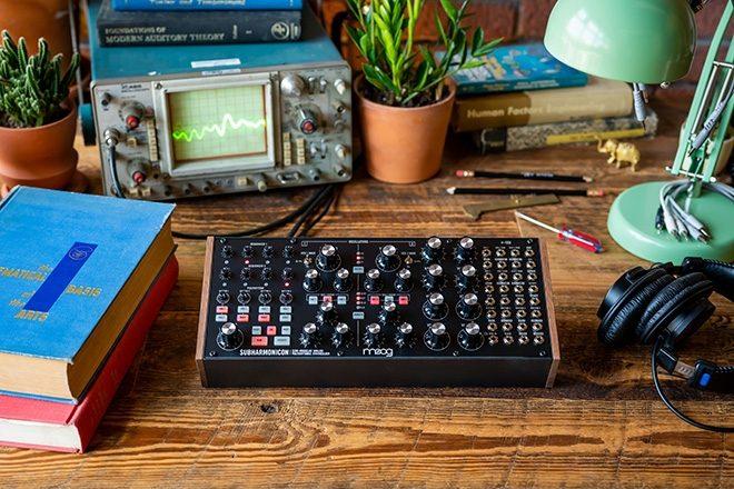 Moog unveils new synth called the Subharmonicon