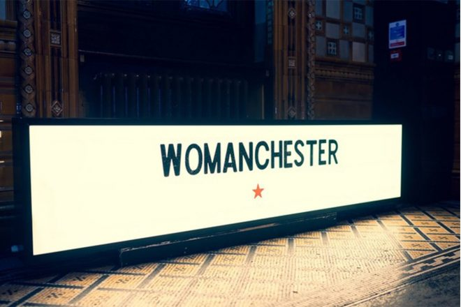 Suffragette City will host a charitable International Women's Day party in Manchester