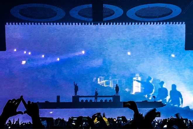 ​Watch Swedish House Mafia debut their new song 'Underneath It All'