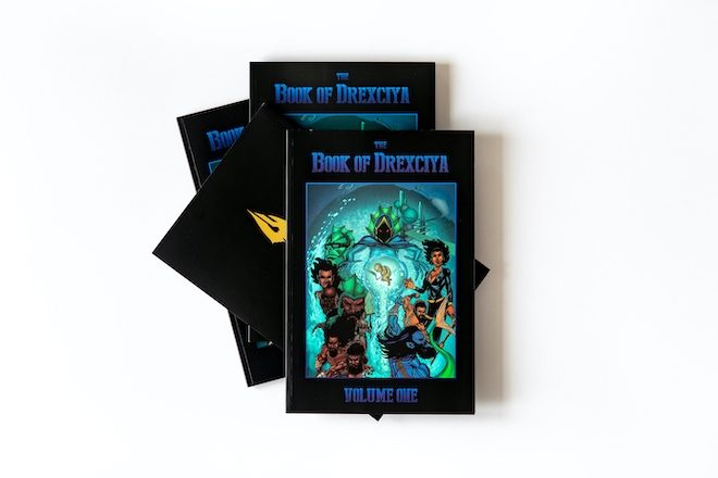 Tresor will release the first volume of a graphic novel series depicting the mythology of Drexciya