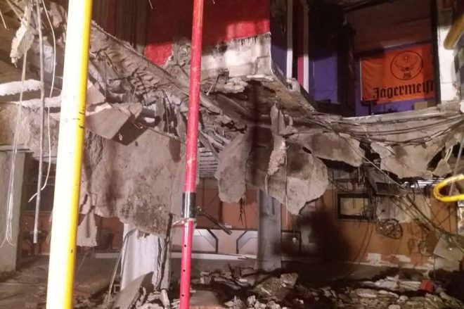 Forty clubbers injured after Tenerife nightclub floor gives way