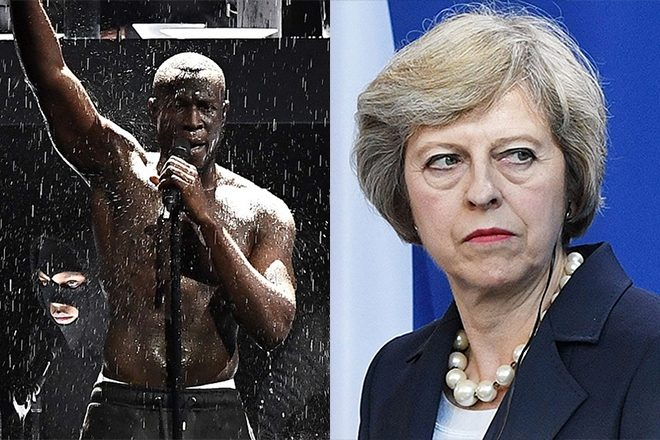 ​Stormzy's Brit Award callout prompts a response from Downing Street