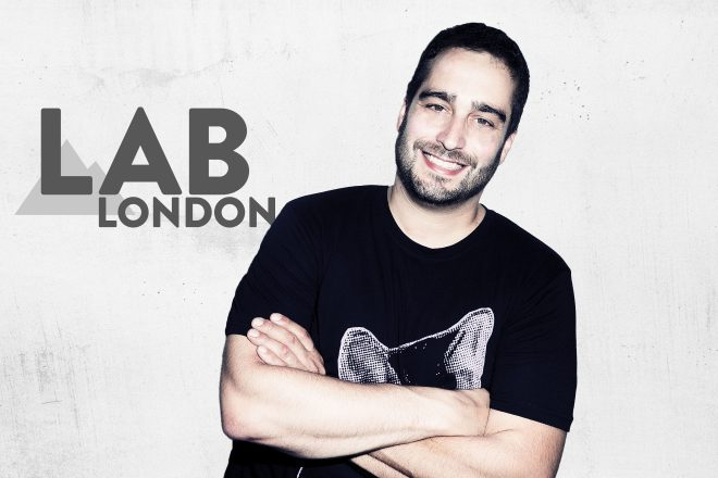 Todd Edwards in The Lab LDN
